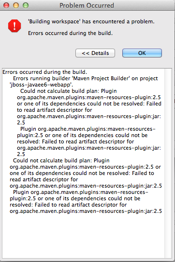 screenshot_Eclipse_Errormessage_maven_repo